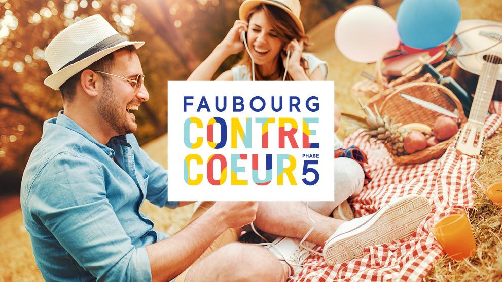 Pique-niquez au Faubourg Contrecœur phase 5 et faites connaissance avec vos futurs voisins!