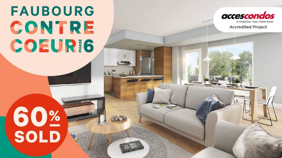 The Very Last Accredited Accès Condos Units Available at Faubourg Contrecœur
